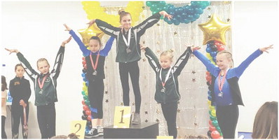 Area Gymnasts Finish In Top Five
