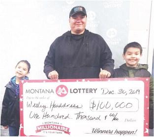 Wolf Point Man,  Poplar Woman Win Lotto