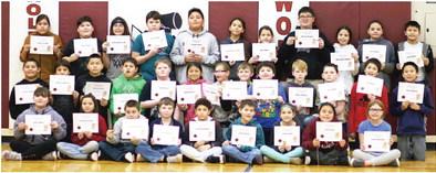 Fifth-Grade Honor Roll
