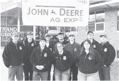 Wolf Point FFA Competes At Bozeman