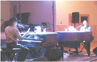 Dueling Pianos Sees High Turnout,  Chamber Event To Return Next Year