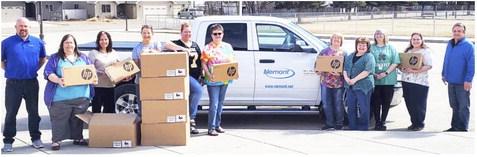 Nemont Donates Computers