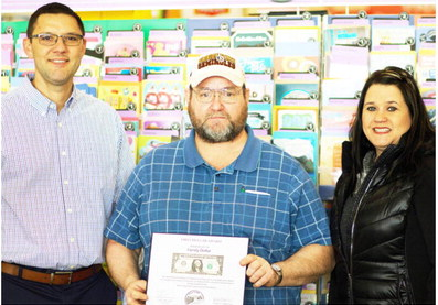 Variety Store Chain Gets First Dollar, Dye Says Store Is Setting Records