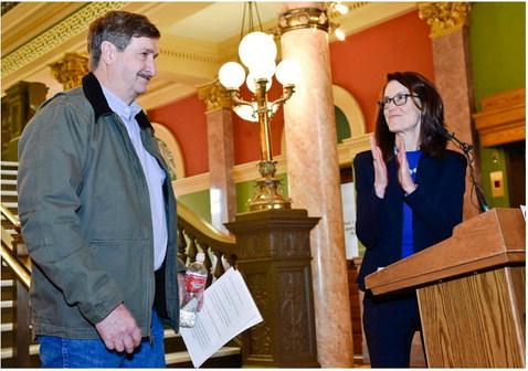 Mattelin Joins Williams' Bid For Governor
