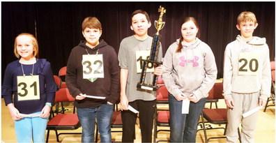 County Spelling Bee Winners