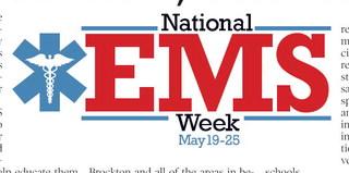 EMS Week Honors  Critical Staff, Volunteers