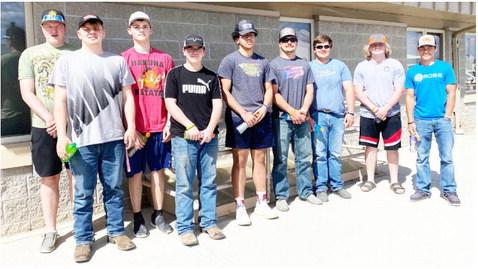 Hopa Mountain Donates  To Culbertson Food Bank