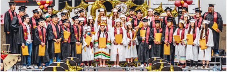 Poplar High School Graduates