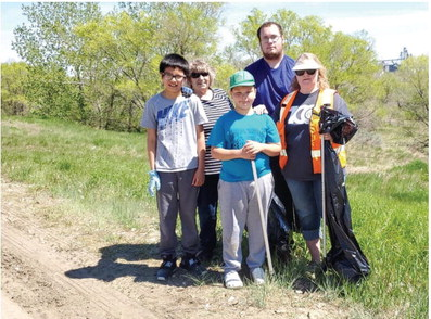 Optimists Volunteer For Clean Sweep