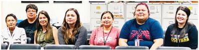 Volunteers Process Relief Applications