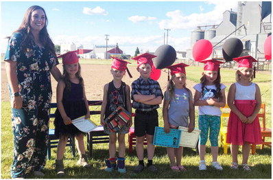 Froid Kindergarten Graduation