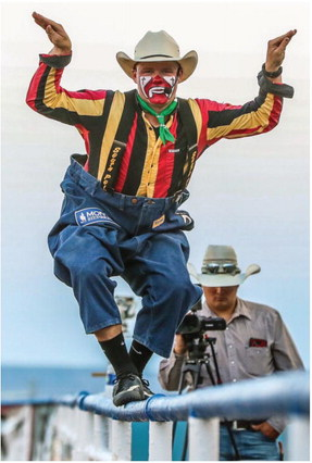 Rodeo Clown Rhoads To Fill In For Halstead