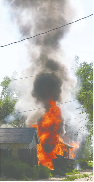 Destroyed In Thursday Fire