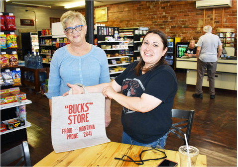 Grand Reopening Deemed A Success  At Froid's Lone Grocery Store
