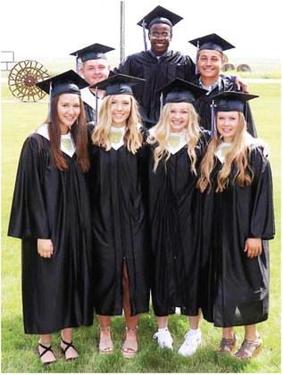Lustre Honors Eight Graduates