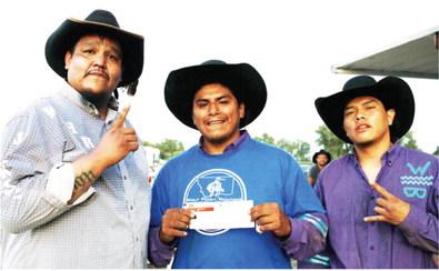 Saturday Wild Horse Winners