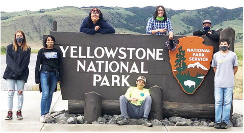 Six Local Students Attend Ecology  Trip To Yellowstone National Park