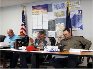 Bainville Town Council  Examines Budget