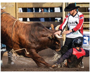 Simmes To Appear As  Bullfighter At Stampede
