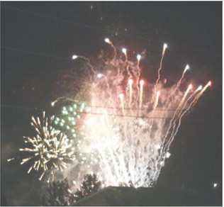 Fireworks Survive COVID, But  Mother Nature Forces Delay