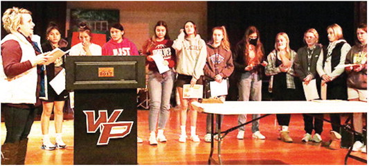 Wolf Point School Honors Fall Sports Athletes