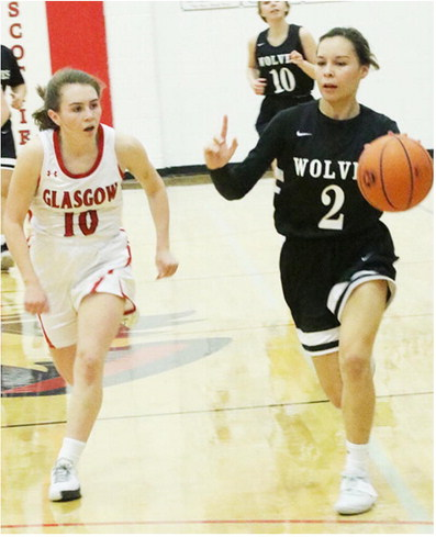 Lady Wolves Struggle In Wolf Point