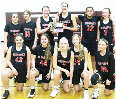 Froid/Lake Girls Place Second