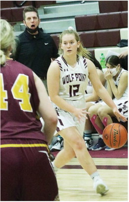 Wolf Point Sweeps Home Contests Against Baker