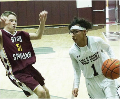 Wolf Point Boys Stop Spartans