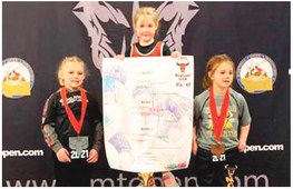 Two Wolf Point Wrestlers Win  Championships At Montana Open