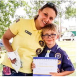 Cub Scouts Hold Food  Drive For County Cupboard