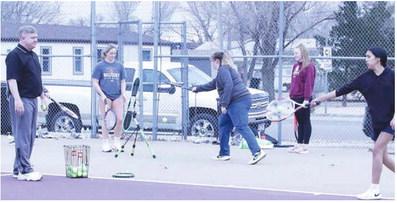 Tennis Team Looks For Success