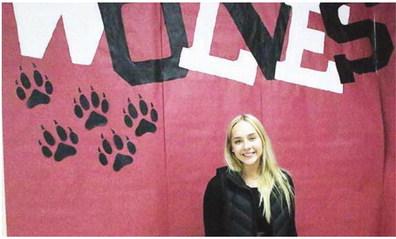 Wolf Point Senior Cheerleader  Selected For Shrine Football Game