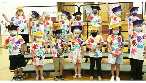 Southside Preschool Entertains  During Graduation Ceremony