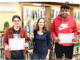 Froid Students Earn  Honors In Essay Contest