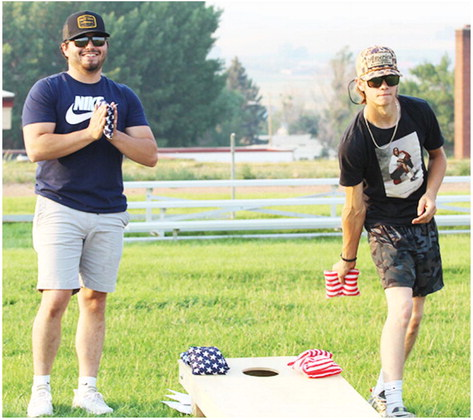 Bainville Residents Compete In Cornhole  Tourney To Raise Funds For School Programs