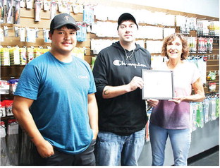 The Tavern Receives  First Dollar From Chamber