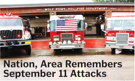 Nation, Area Remembers  September 11 Attacks