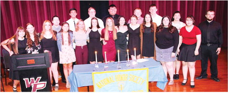 National Honor Society Holds Ceremony
